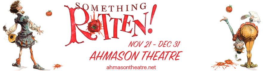 something rotten musical broadway ahmason theatre tickets