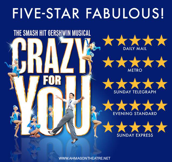 crazy for you musical broadway buy tickets