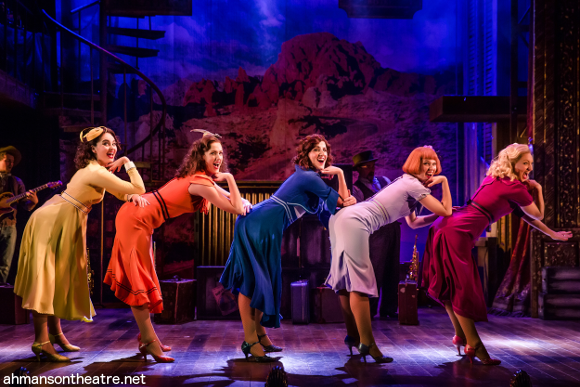 crazy for you musical ahmanson theatre gerschwin
