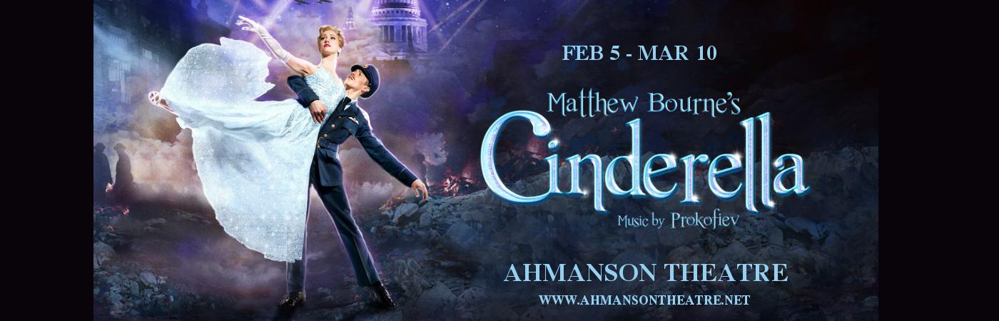 cinderella tickets ahmanson theater