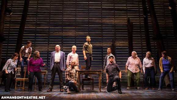 ahmanson theatre come from away buy tickets broadway