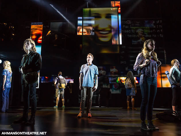 evan hansen musical ahmanson theater