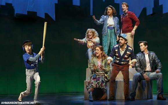 falsettos musical ahmanson theater