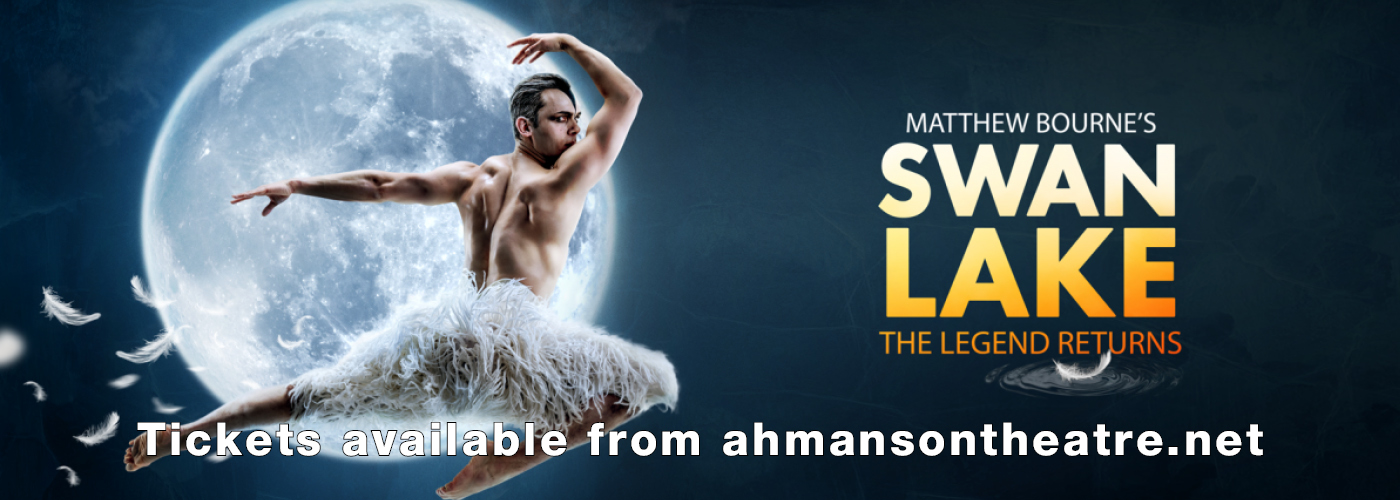 ahmanson theatre swan lake