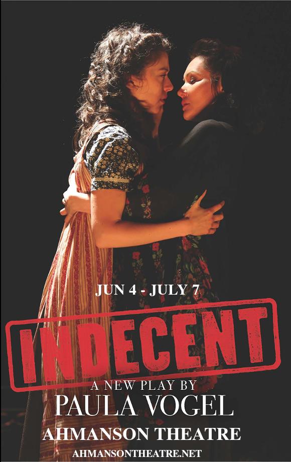 indecent ahmanson theatre