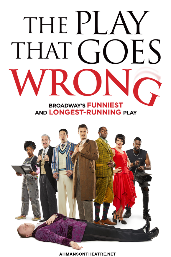 the play that goes wrong ahmanson theatre buy tickets