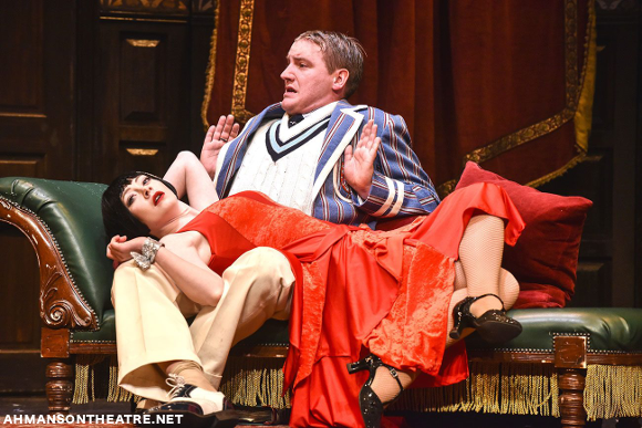 ahmanson theater the play that goes wrong